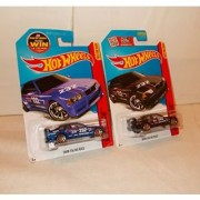 Hot Wheels BMW E36 M3 Race - Black & Blue - 146/250 - Comes with 2 cars