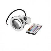 10W Focos de LED 1 LED Integrado 500 lm RGB Impermeável AC 12 V 1 pç