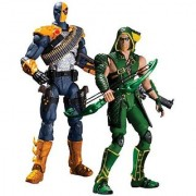 DC Collectibles Injustice Deathstroke vs. Green Arrow Action Figure 2-Pack