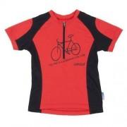 Sensor Bluza rowerowa dziecięca Sensor Entry Evo czerwony 13000051