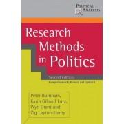 Research Methods in Politics by Peter Burnham