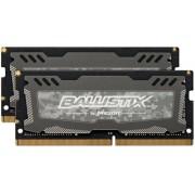 Ballistix Sport LT Kit Memoria da 16 GB Kit (8 GBx2), DDR4, 2400 MT/s (PC4-19200), SODIMM 260-Pin - BLS2C8G4S240FSD