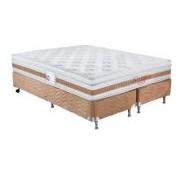 Colchão Orthocrin Bonnel Sensitive Br Avelã - Colchão Queen Size-1,58x1,98x0,30-Sem Cama Box
