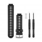 Correias de Relógio Garmin Branco e Preto Forerunner 230/235/630