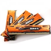 Memorie G.Skill Ares 16GB (4x4GB) DDR3 PC3-17000 CL11 1.6V 2133MHz Intel Z97 Ready Dual/Quad Channel Kit Low Profile, F3-2133C11Q-16GAO
