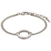 Pilgrim Affection Silver Plated Armband