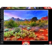 Educa 16324 - Puzzle 4000 Pezzi, Tematica Tramonto a Red Rock, Arizona, Usa