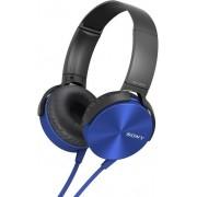 Casti Stereo Sony MDRXB450APL, Extra Bass (Albastru)
