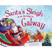 Santa's Sleigh is on its Way to Galway by Eric James