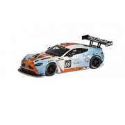 Scalextric Gulf Slot Aston Martin Vantage Gt3 Car (1:32 Scale)