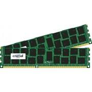 Crucial Kit Memoria per Mac da 32 GB (16 GBx2), DDR3, 1866 MT/s, (PC3-14900) SODIMM, 240-Pin - CT2C16G3R186DM
