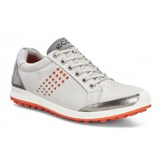 Pantofi golf barbati ECCO Biom Hybrid 2 (Gri / Portocaliu)