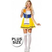 Oktoberfest Biermeisje kostuum 44 (2xl)