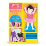 Melissa & Doug Leah Ballerina Magnetic Dress-Up Set