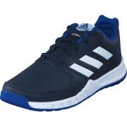 Adidas Sport Performance Fortagym K Legend Ink F17/Ftwr White/Coll, Skor, Sneakers & Sportskor, Sneakers, Blå, Vit, Unisex, 35