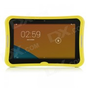 """R70PC 7"""" IPS Android 4.4.2 de doble nucleo de Tablet PC con 4 GB de memoria ROM? Wi-Fi? TF Slot - Amarillo + Blanco"""