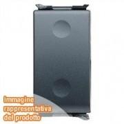Gewiss GW30013 - Panel de mandos (Negro, 250 V, 16 A)