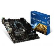 Micro-Star International Msi Intel B250M Pro-Vdh Lga 1151 M-Atx Motherboard