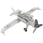 Army Guard War Plane Fighter Plane 60 Pc Ausini Educational Building Blocks Set Compatible To Lego Parts - Best Gift for