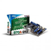 MB MSI 970A-G43, AMD 970, 4xDDR3, GbLAN, SATA3, USB 3.0, ATX