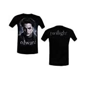 Twilight - T-Shirt Edward Face Unisex Adult S black