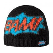 Bam Pow Beanie Zwart