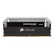 Corsair CMD32GX4M4B3200C16 Dominator Platinum Memoria per Desktop di Livello Enthusiast da 32 GB (4x8 GB), DDR4, 3200 MHz, CL16, con Supporto XMP 2.0, Nero