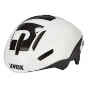 UVEX EDAero Helm white-black mat 57-59 cm Fahrradhelme