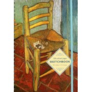 Sketchbook: Vincent's Chair (Vincent Van Gogh): 128-Page Unlined Pages