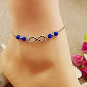 moda tornozeleiras azul yakeli