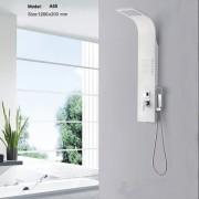 Хидромасажен душ панел в бяло A55