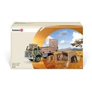 Schleich - Camión de salvamento de animales de safari (41410)