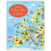 Sticker Picture Atlas Of Europe(Jonathan Melmoth)