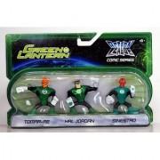 Green Lantern Action League Comic Series 3Pack Tomarre - Hal Jordan - Sinestro
