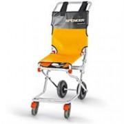 sedia portantina da evacuazione a 4 ruote spencer 407 in acciaio - pes