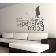 Pensive Mood, Customized Quote