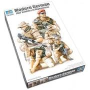 Trumpeter Modern German ISAF NATO Soldiers in Afghanistan Figure Set, Scale 1/35, 5-Pack