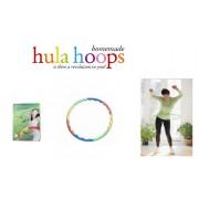 Cerc pentru gimnastica si masaj hula hoop double