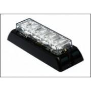 Flash Blitz Auto GALBEN 4 LED-uri cu dual voltaj 12/24V -16 tipuri de flash