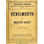 Kenilworth, Collection Of British Authors, Tauchnitz Edition, Vol. 78