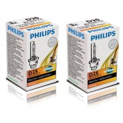Pack 2 Ampoules Xenon Vision D2S 85122VIC1 Philips