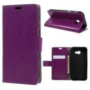 Samsung Galaxy A5 (2017) Portemonnee Hoesje Wallet Book Case - Paars