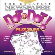The Greatest Newspaper Dot-To-Dot Puzzles, Vol. 2 by David Kalvitis