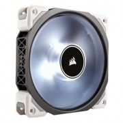 Ventilator 140 mm Corsair ML140 PRO White LED PWM Premium Magnetic Levitation