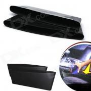 Pratique universelle PP voiture Catch Pocket Caddy Seat / Storage Container - Noir (2PCS)