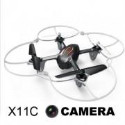 Távirányítású Rc Quadrokopter Syma X11C Kamerás 15,2 cm 4 CH 2,4 GHz - No.: Syma X11C Kamerás