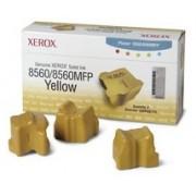 108R00725 Brand New Genuine Retail Original OEM ( FREE GROUND SHIPPING ! ) XEROX - COLOR PRINTER SUPPLIES 3PK YELLOW SOLID INK STICKS