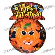 Halloween Pumpkin with Sound Effect & Flashing Light (3 x AA)