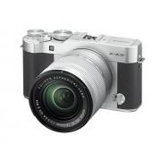 "Fujifilm X-A3 Cámara EVIL de 24 MP (pantalla táctil de 3"", obturador electrónico, video Full HD, Wifi) plata kit cuerpo con objetivo XC 16-50 mm"