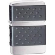 Zippo Classic Black Zip Guard Brushed Chrome Locking Carabiner(Silver)